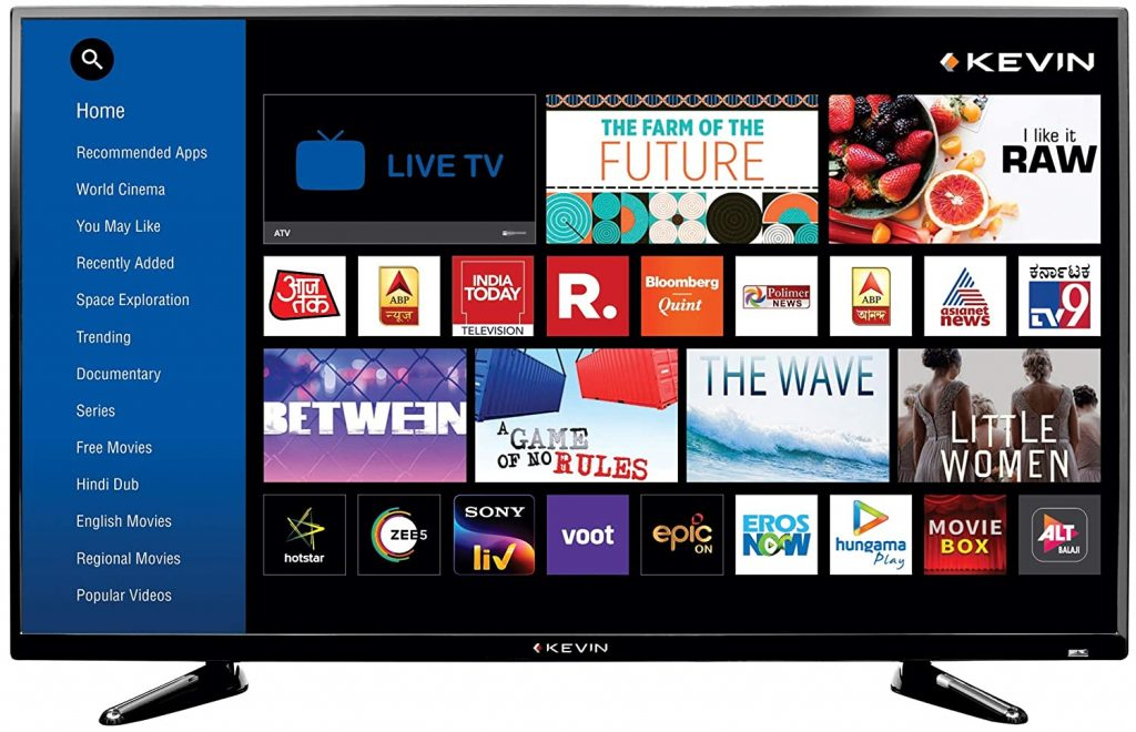 Kevin 40 Inch Full HD Led Smart TV