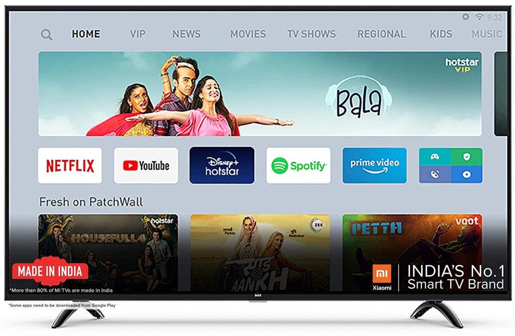 Mi TV 4A PRO 43 Inch Android LED TV
