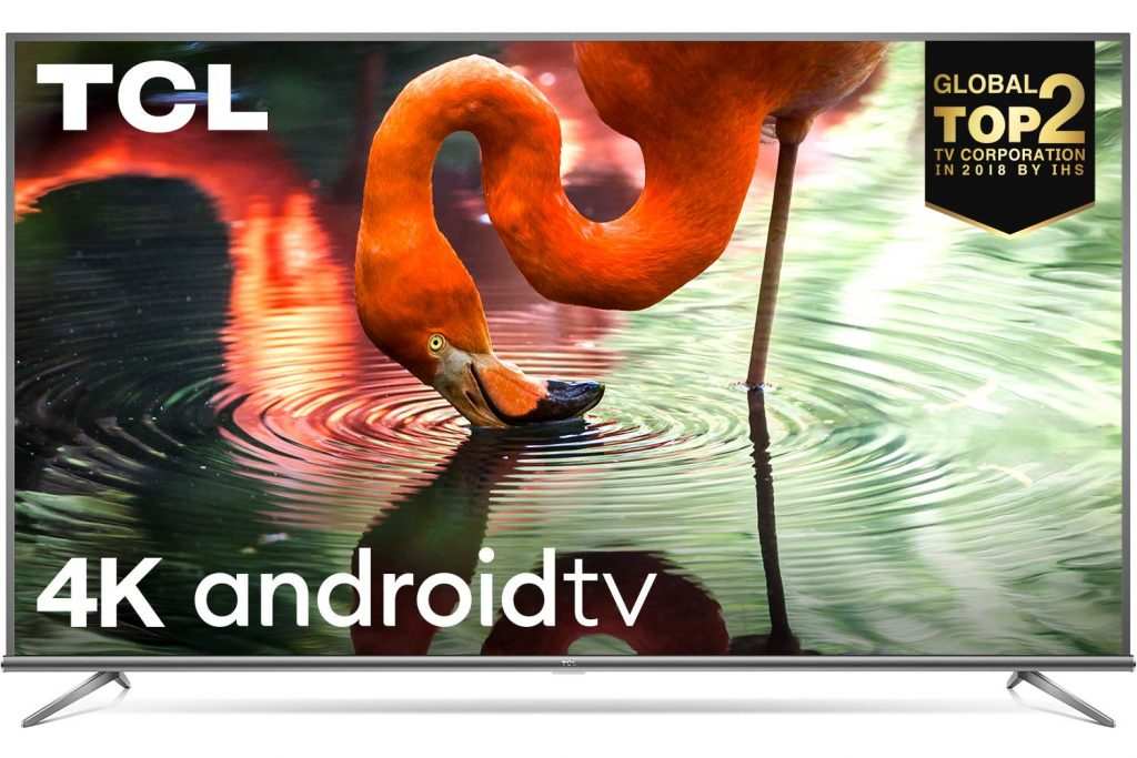 TCL 50 Inch 4K Ultra HD Smart Android TV